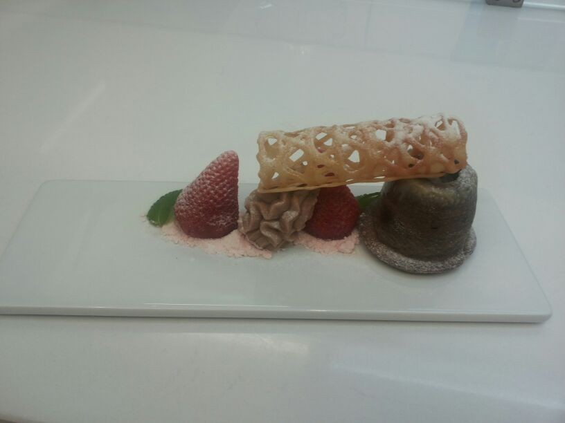 A Dessert for your dinner in ibiza